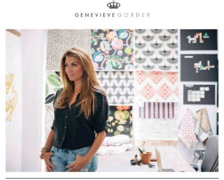 Browse Genevieve Gorder Home Decor Fabric Collection