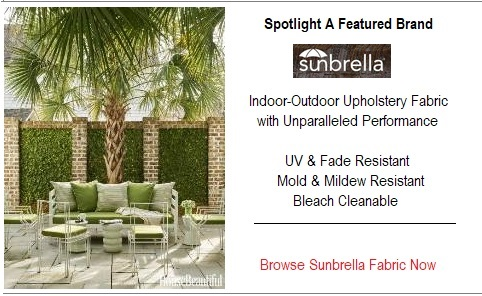 Browse Sunbrella High Performance Indoor-Outdoor Upholstery Fabric
